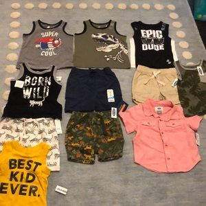 Lot baby boy clothes